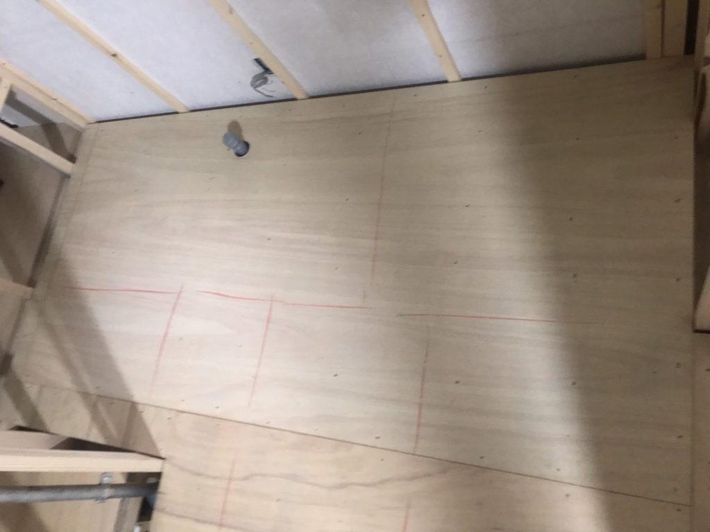 ビルテナント 置床工事 フリーフロアCP(神奈川県川崎市多摩区)