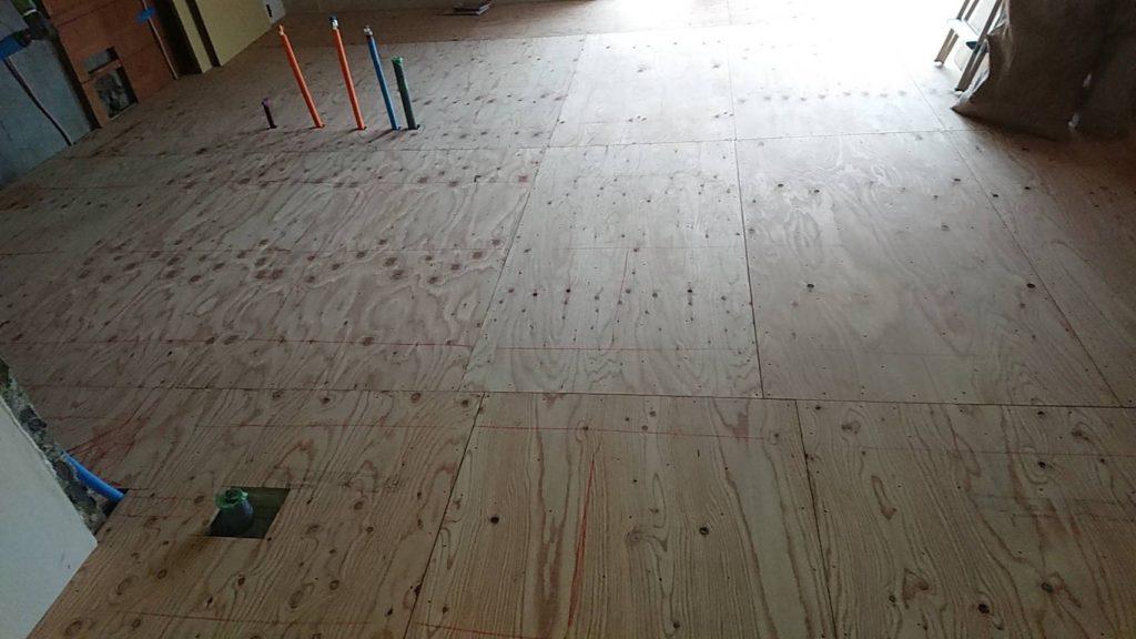 マンション 1day置床工事 フリーフロアCP(東京都世田谷区)