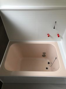 浴室リフォーム工事 フクビ (東京都三鷹市井の頭)