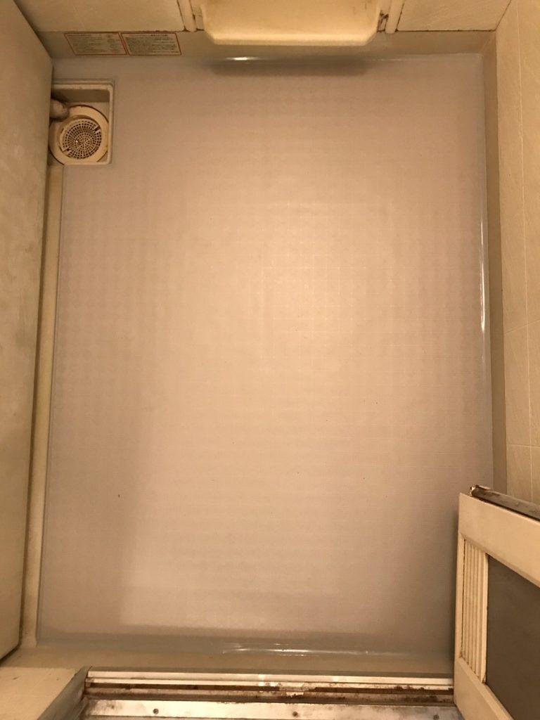 マンション 浴室床改修、リフォーム工事(埼玉県朝霞市)