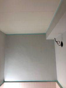 マンション 浴室壁改修、リフォーム工事(東京都中野区)
