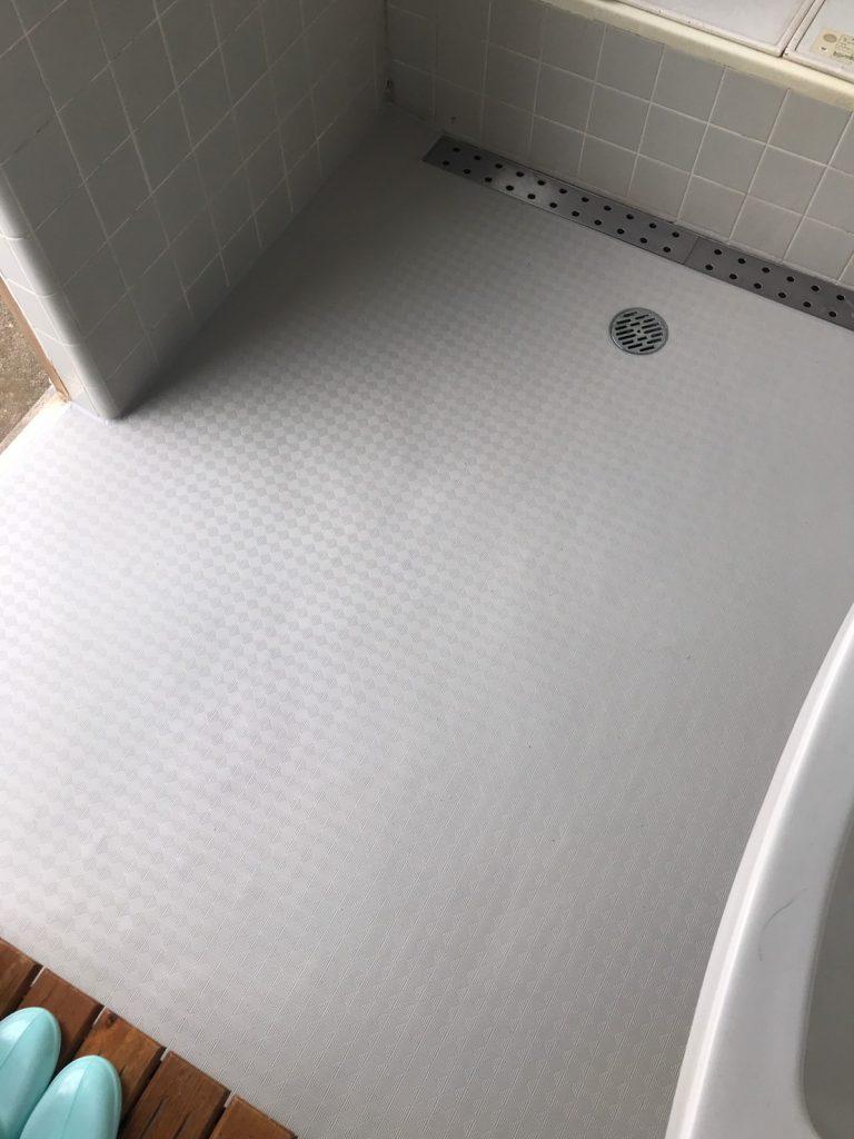 戸建住宅 浴室床リフォーム工事 あんから(神奈川県海老名市)